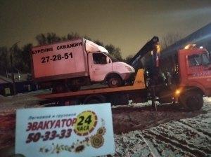 Фото эвакуации грузовика