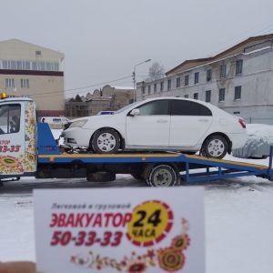 Фото эвакуации легкового авто