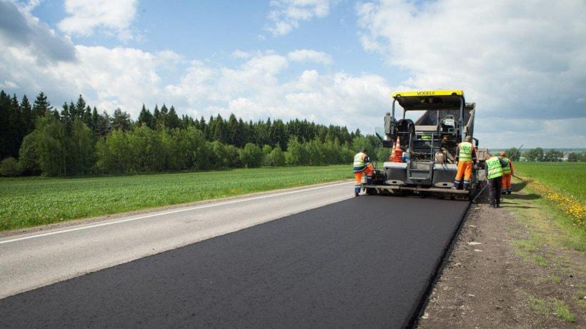 Фото ремонта дороги